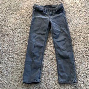Joe's gray jeans
